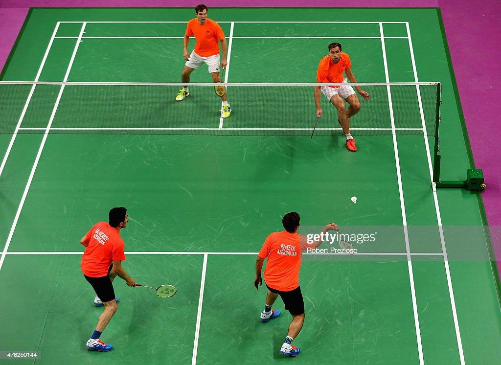 Badminton Day 12: Baku 2015 - 1st European Games