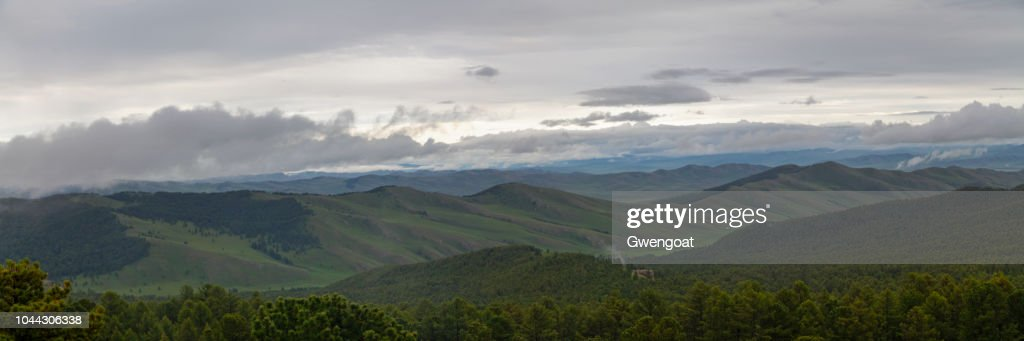 Orkhon Valley in Mongolia : Stock Photo