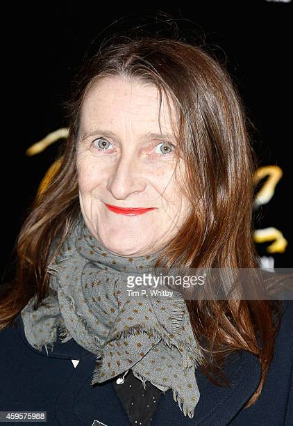 Orla Kiely attends the press night of Once as Ronan Keating joins the cast at Phoenix Theatre on November 25 2014 in London England