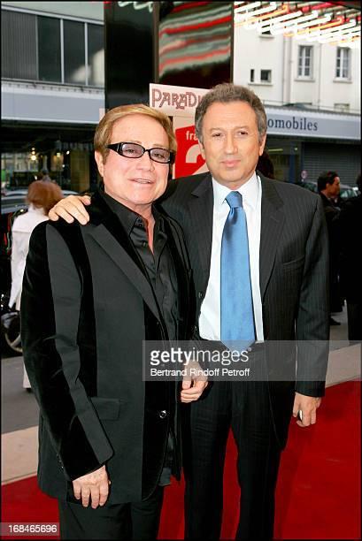 Orlando and Michel Drucker at Dalida TV Film Tribute To The Singer