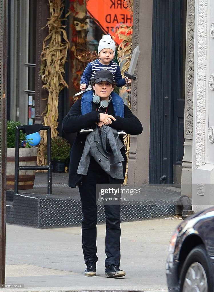 Celebrity Sightings In New York City - November 15, 2013