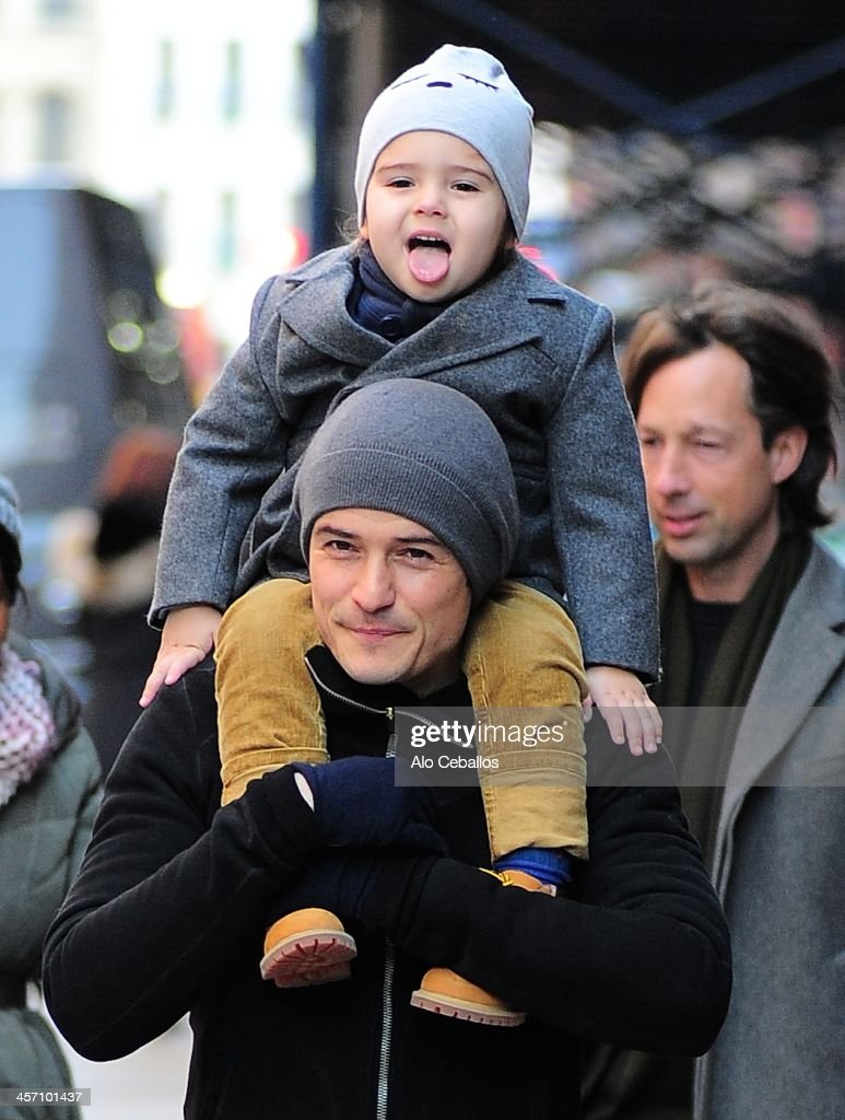 Celebrity Sightings In New York City - December 16, 2013