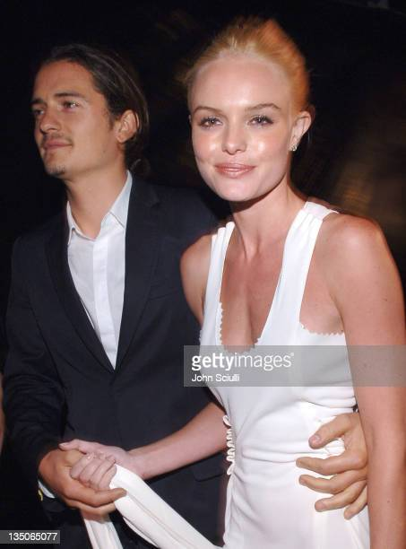 Orlando Bloom and Kate Bosworth during 'Superman Returns' World Premiere Sponsored By Belstaff at Mann Village and Bruin Theaters in Westwood...