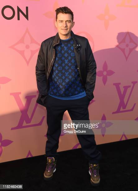 Orlando Bloom arrives at Louis Vuitton Unveils Louis Vuitton X An Immersive Journey at Louis Vuitton X on June 27 2019 in Beverly Hills California