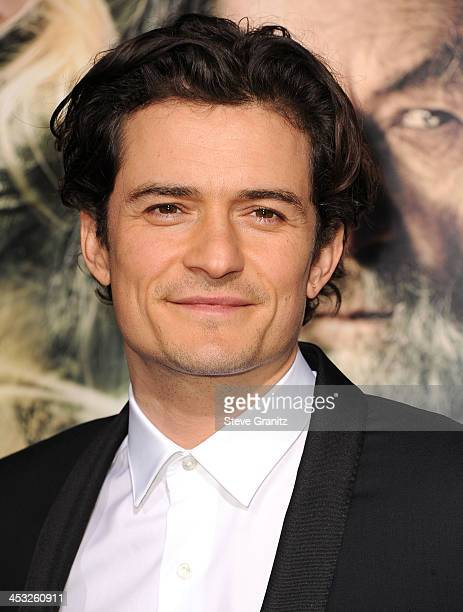 Orlando Bloom arrives at the The Hobbit The Desolation Of Smaug at TCL Chinese Theatre on December 2 2013 in Hollywood California