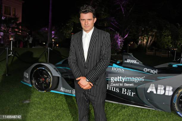 Orlando Bloom attends a private dinner hosted by Alejandro Agag to celebrate the World Premiere of Formula E documentary And We Go Green during the...