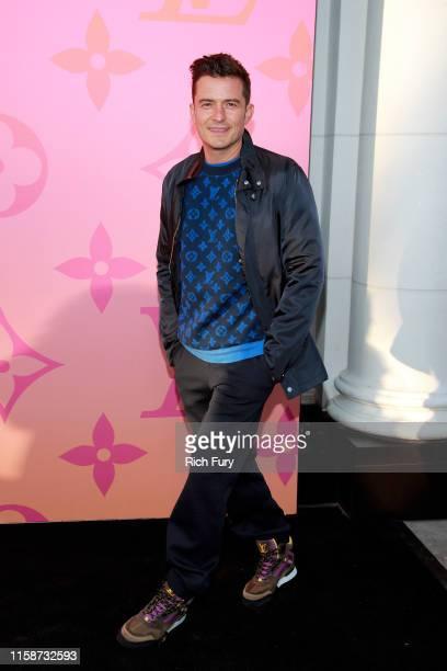 Orlando Bloom attends Louis Vuitton Unveils Louis Vuitton X: An Immersive Journey on June 27, 2019 in Beverly Hills, California.