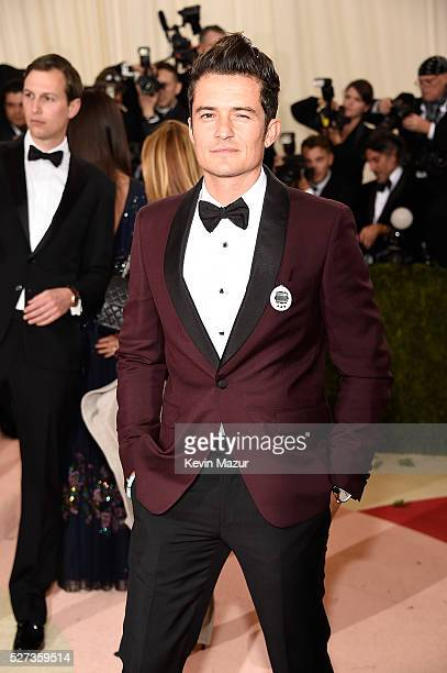 """Orlando Bloom attends """"Manus x Machina: Fashion In An Age Of Technology"""" Costume Institute Gala at Metropolitan Museum of Art on May 2, 2016 in New..."""