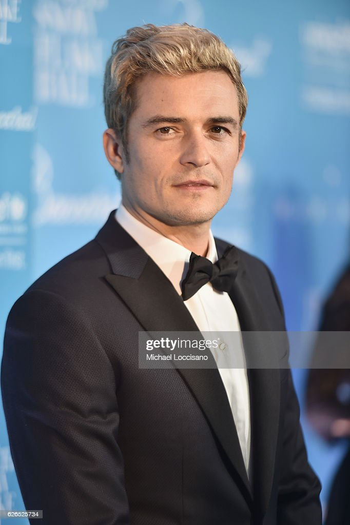 Orlando Bloom attends the 12th Annual UNICEF Snowflake Ball at Cipriani Wall Street on November 29, 2016 in New York City.