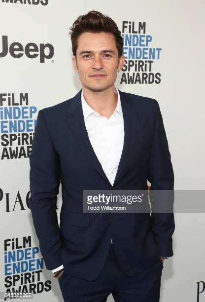 Orlando Bloom attends the 2017 Film Independent Spirit Awads on February 25 2017 in Santa Monica California