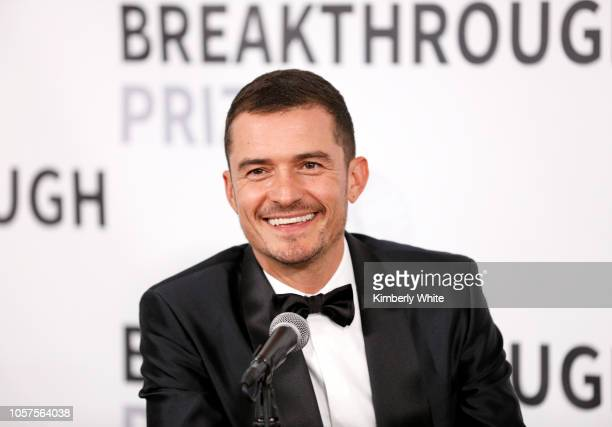 Orlando Bloom attends the 2019 Breakthrough Prize at NASA Ames Research Center on November 4 2018 in Mountain View California