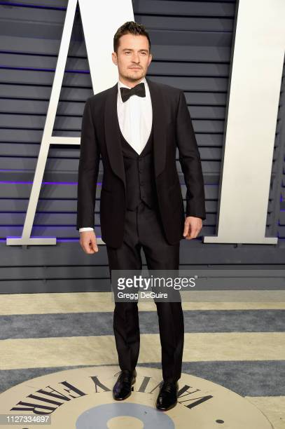 Orlando Bloom attends the 2019 Vanity Fair Oscar Party hosted by Radhika Jones at Wallis Annenberg Center for the Performing Arts on February 24,...