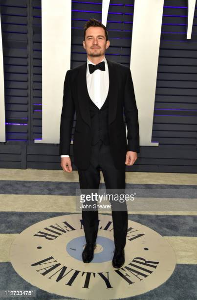 Orlando Bloom attends the 2019 Vanity Fair Oscar Party hosted by Radhika Jones at Wallis Annenberg Center for the Performing Arts on February 24 2019...