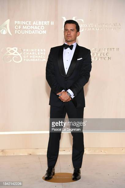 Orlando Bloom attends the 5th Monte-Carlo Gala For Planetary Health on September 23, 2021 in Monte-Carlo, Monaco.