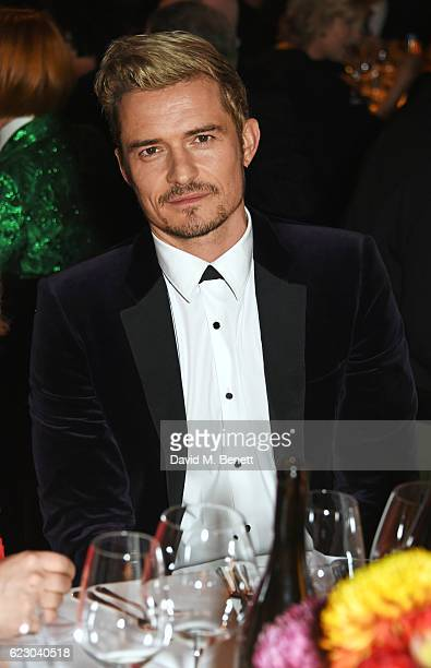 Orlando Bloom attends the 62nd London Evening Standard Theatre Awards recognising excellence from across the world of theatre and beyond at The Old...