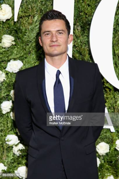 Orlando Bloom attends the 71st Annual Tony Awards at Radio City Music Hall on June 11 2017 in New York City