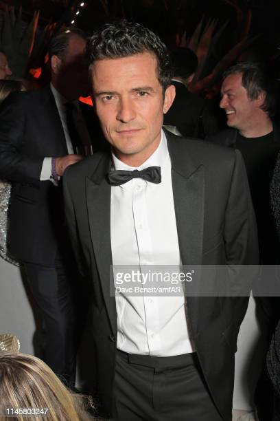 Orlando Bloom attends the amfAR Cannes Gala 2019 after party at Hotel du CapEdenRoc on May 23 2019 in Cap d'Antibes France