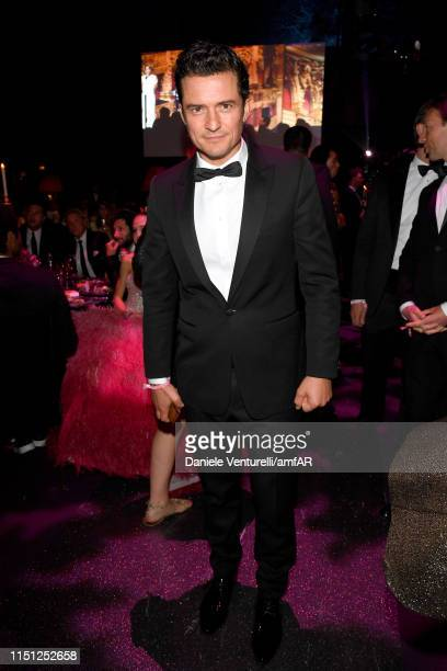 Orlando Bloom attends the amfAR Cannes Gala 2019 at Hotel du CapEdenRoc on May 23 2019 in Cap d'Antibes France