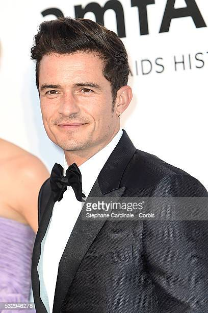 Orlando Bloom attends the amfAR's 23rd Cinema Against AIDS Gala at the annual 69th Cannes Film Festival at Hotel du CapEdenRoc on May 19 2016 in Cap...