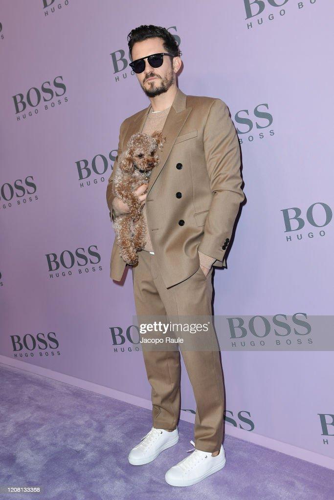 Boss - Front Row - Milan Fashion Week Fall/Winter 2020-2021 : News Photo