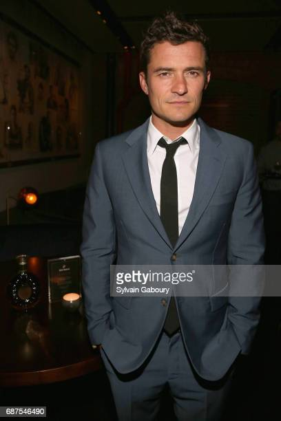 Orlando Bloom attends The Cinema Society with Remy Martin Frederique Constant host the after party for Pirates of the Caribbean Dead Men Tell No...