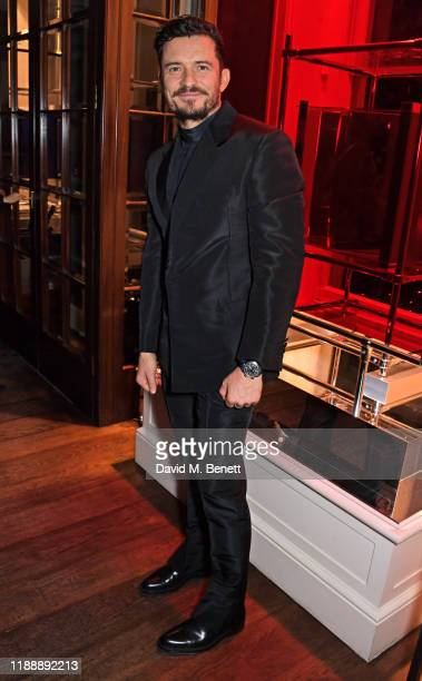 Orlando Bloom attends the Flaunt Magazine and Dunhill party celebrating 'The Voyage Issue' honouring Orlando Bloom at Bourdon House on December 15,...