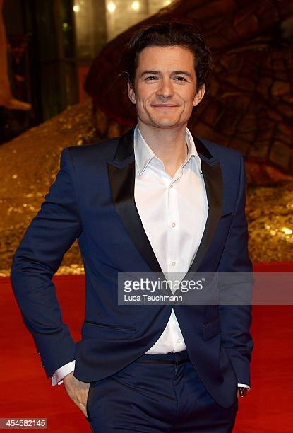 Orlando Bloom attends the German premiere of the film 'The Hobbit: The Desolation Of Smaug' at Sony Centre on December 9, 2013 in Berlin, Germany.