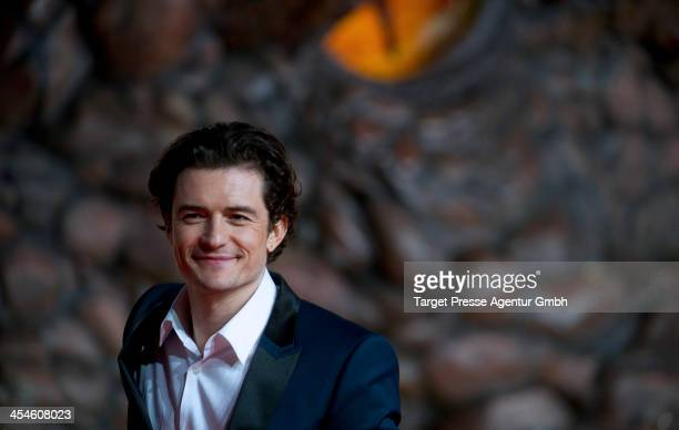 Orlando Bloom attends the German premiere of the film 'The Hobbit The Desolation Of Smaug' at Sony Centre on December 9 2013 in Berlin Germany