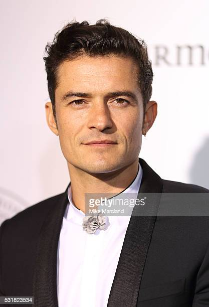 Orlando Bloom attends The Harmonist Cocktail Party during The 69th Annual Cannes Film Festival at Plage du Grand Hyatt on May 16 2016 in Cannes