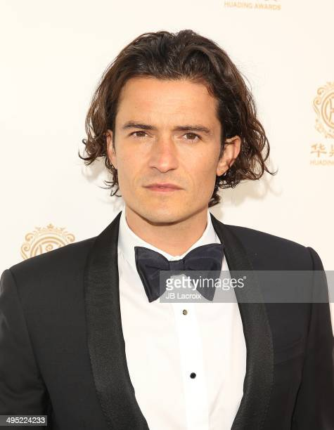 Orlando Bloom attends the Huading Film Awards at Ricardo Montalban Theatre on June 1 2014 in Los Angeles California