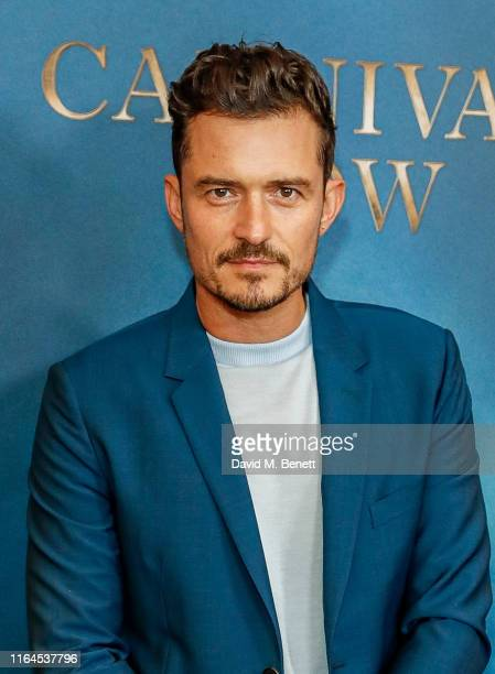 Orlando Bloom attends the London Premiere of Carnival Row at The Ham Yard Hotel on August 28 2019 in London England