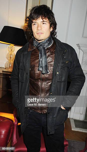 Orlando Bloom attends the Mummy Rocks official launch and charity auction in aid of the Great Ormond Street Hospital Children's Charity, at Garrard...