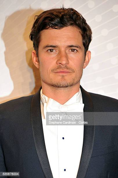 Orlando Bloom attends the 'Palme D'Or Winners dinner' during the 66th Cannes International Film Festival