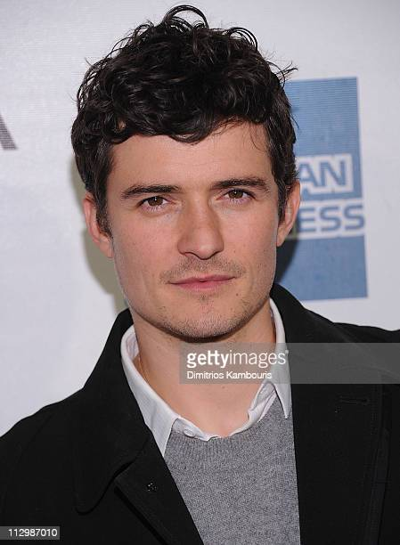 Orlando Bloom attends the premiere of 'The Good Doctor' during the 10th annual Tribeca Film Festival at BMCC Tribeca PAC on April 22 2011 in New York...