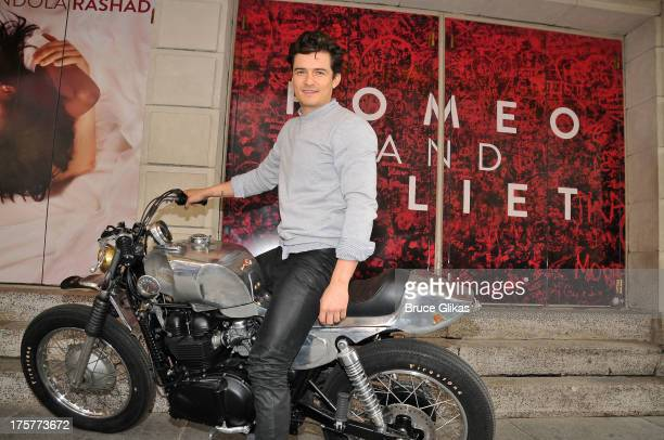 Orlando Bloom attends the 'Romeo And Juliet' Broadway Photo Call at Richard Rodgers Theatre on August 7 2013 in New York City