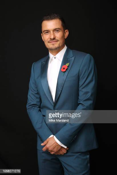 Orlando Bloom attends the SeriousFun London Gala 2018 at The Roundhouse on November 6, 2018 in London, England.