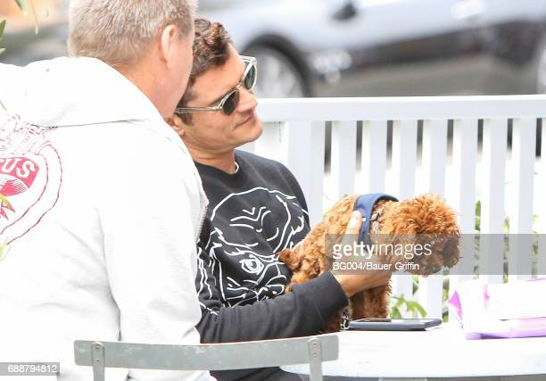 Orlando Bloom Butters are seen on May 26 2017 in Los Angeles California