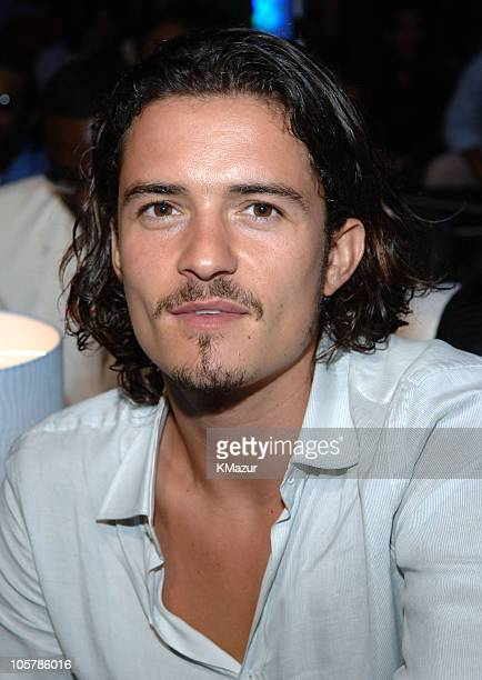 Orlando Bloom during 2005 MTV Video Music Awards Audience and Backstage at American Airlines Arena in Miami Florida United States