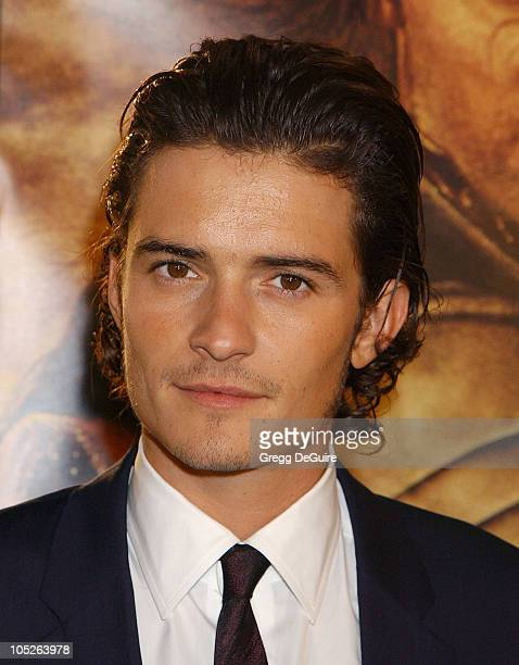 Orlando Bloom during 'The Lord Of The RingsThe Return Of The King' Los Angeles Premiere at Mann Village Theatre in Westwood California United States