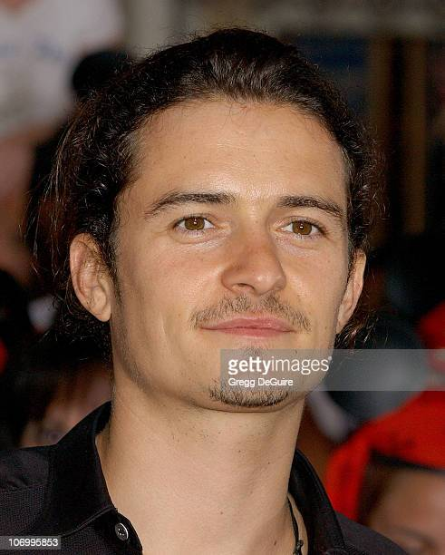 Orlando Bloom during World Premiere of Walt Disney Pictures' 'Pirates of the Caribbean Dead Man's Chest' Arrivals at Disneyland in Anaheim California...