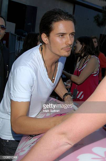 Orlando Bloom in My Scene Fab Faces Dolls Celebrity Retreat Produced by Backstage Creations at the 2006 Teen Choice Awards