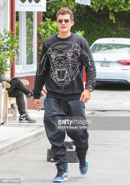 Orlando Bloom is seen on May 26 2017 in Los Angeles California