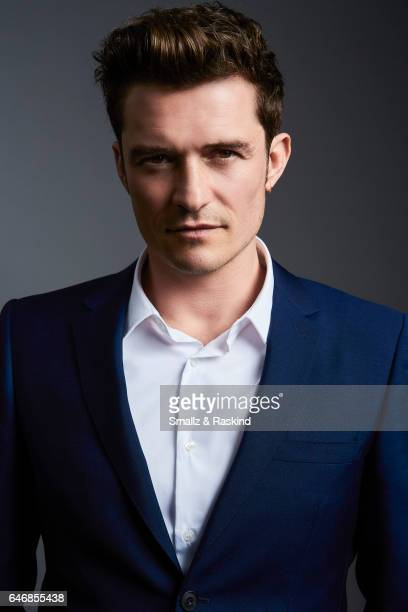 Orlando Bloom poses for portrait session at the 2017 Film Independent Spirit Awards on February 25 2017 in Santa Monica California