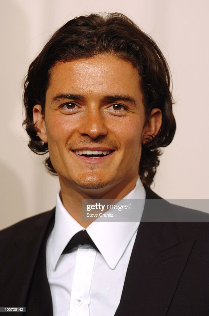 Orlando Bloom, presenter Best Film Editing during The 77th Annual Academy Awards - Press Room at Kodak Theatre in Hollywood, California, United States.
