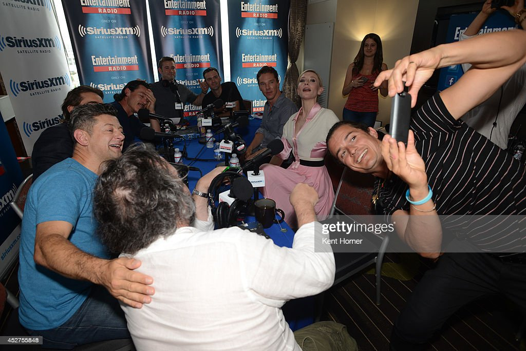 SiriusXM's Entertainment Weekly Radio Channel Broadcasts from Comic-Con 2014 : News Photo