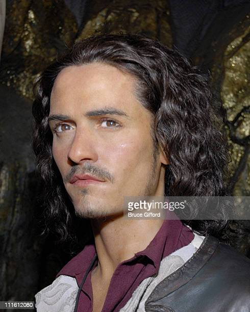 Orlando Bloom's Will Turner wax figure during Orlando Bloom's Will Turner Sails Into Madame Tussauds Las Vegas May 26 2007 at The Venetian in Las...