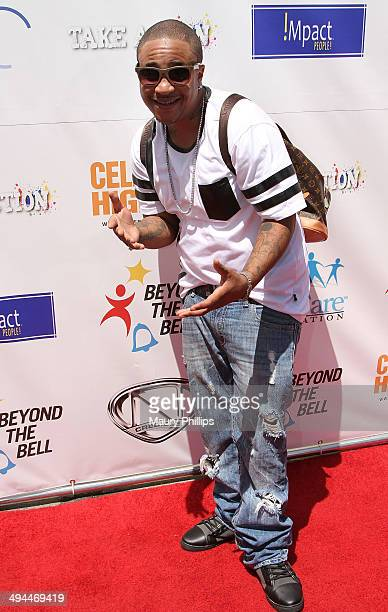 Orlando Brown arrives at LAUSD's Beyond The Bell presented by Nick Cannon's Celebrity High Magazine at Paramount Studios on May 17 2014 in Hollywood...