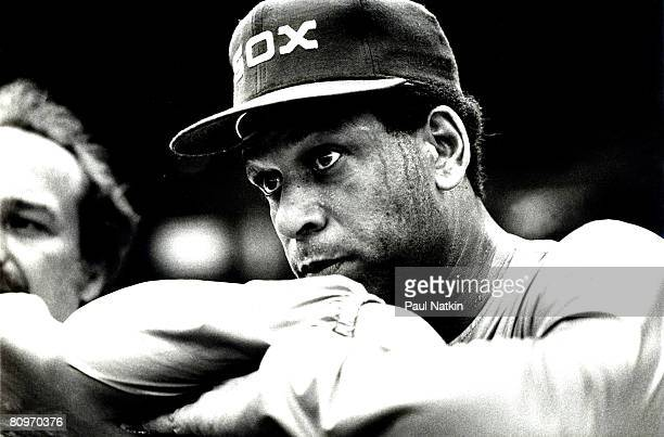 Orlando Cepada with the 1980 Chicago White Sox at Comiskey Park in Chicago Il