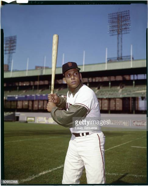 Orlando Cepeda of the San Francisco Giants circa 1962 Cepeda played for the Giants from 19581966