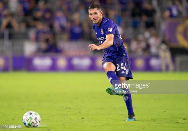 Orlando City defender Kyle Smith during the MLS Preseason soccer match between the Orlando City SC and KR Reykjavik on February 18 at Explorer...